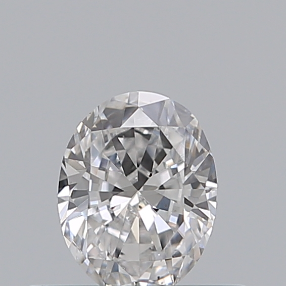 0.31 Carat Oval Loose Diamond, D, SI1, Excellent, GIA Certified