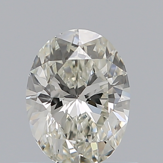 0.50 Carat Oval Loose Diamond, J, VS1, Excellent, GIA Certified