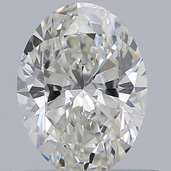 0.54 Carat Oval Loose Diamond, G, VVS1, Super Ideal, GIA Certified