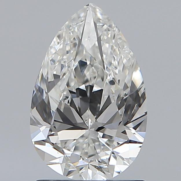 1.20 Carat Pear Loose Diamond, H, VS1, Excellent, GIA Certified