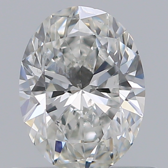 0.52 Carat Oval Loose Diamond, G, SI2, Ideal, GIA Certified | Thumbnail