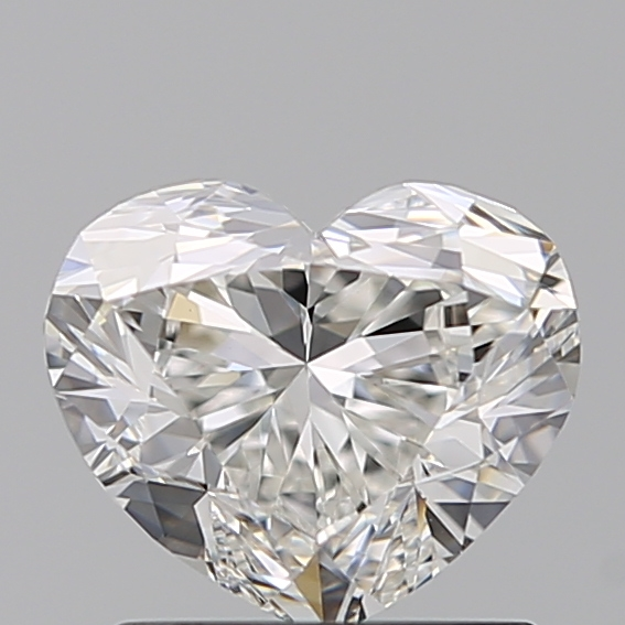 1.20 Carat Heart Loose Diamond, G, VVS1, Excellent, GIA Certified | Thumbnail