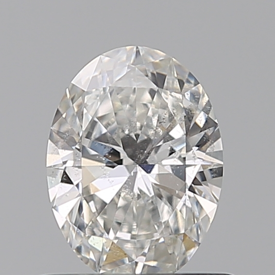0.53 Carat Oval Loose Diamond, F, SI2, Super Ideal, GIA Certified