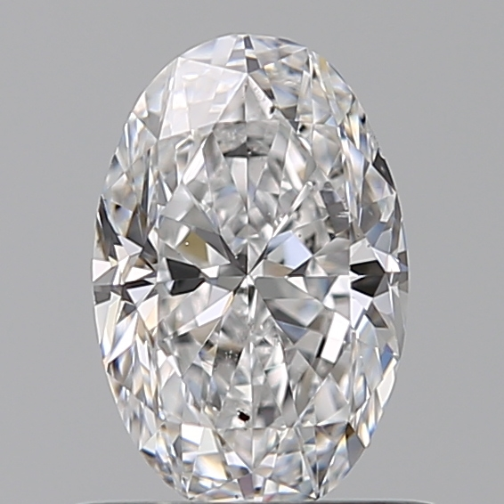 0.70 Carat Oval Loose Diamond, D, SI1, Excellent, GIA Certified