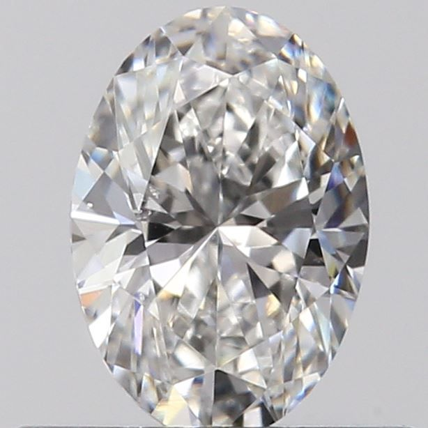 0.40 Carat Oval Loose Diamond, F, VS2, Ideal, GIA Certified
