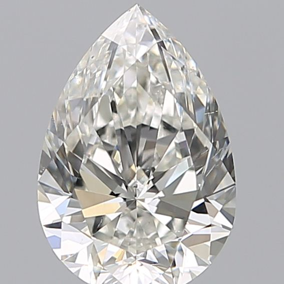 1.50 Carat Pear Loose Diamond, G, SI1, Ideal, GIA Certified