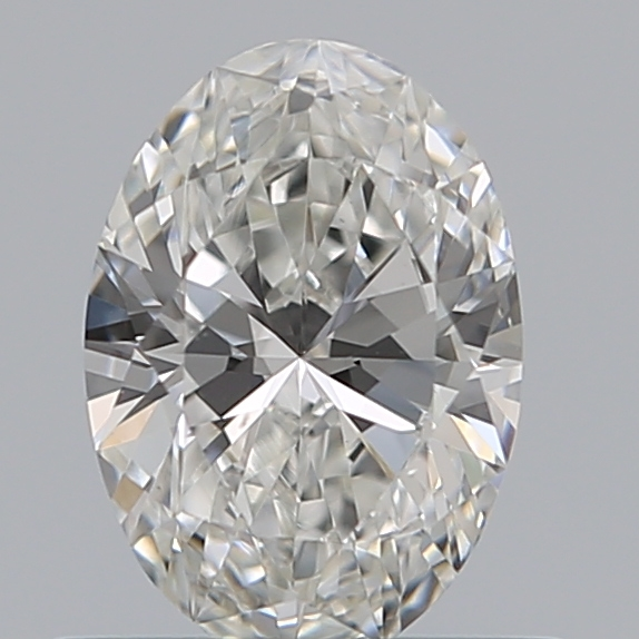 0.51 Carat Oval Loose Diamond, G, VS2, Ideal, GIA Certified | Thumbnail