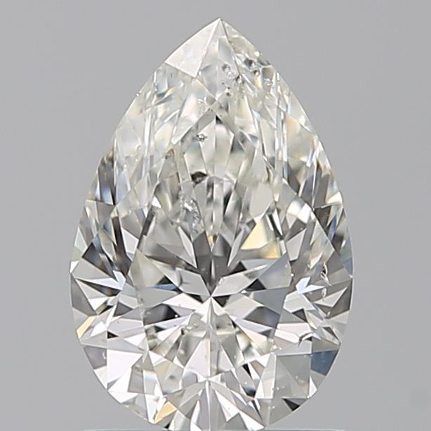 1.02 Carat Pear Loose Diamond, H, SI2, Super Ideal, GIA Certified
