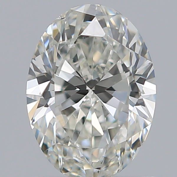 0.70 Carat Oval Loose Diamond, J, VS2, Ideal, GIA Certified | Thumbnail