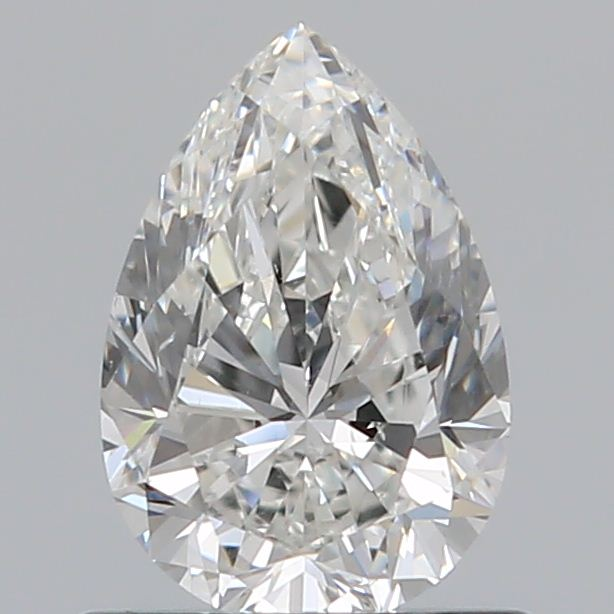 0.70 Carat Pear Loose Diamond, G, VS2, Excellent, GIA Certified