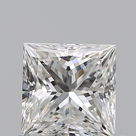 0.50 Carat Princess Loose Diamond, G, VS2, Ideal, GIA Certified | Thumbnail