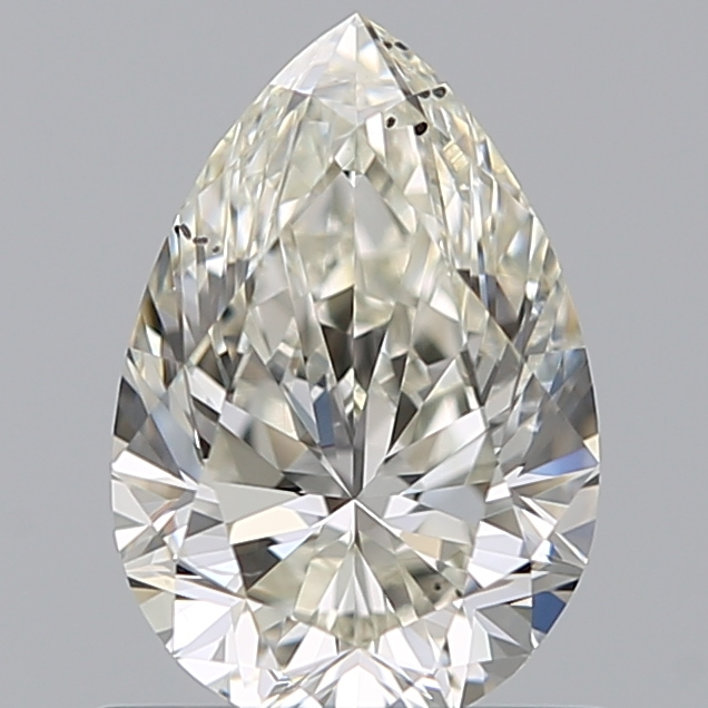 0.70 Carat Pear Loose Diamond, J, SI1, Super Ideal, GIA Certified