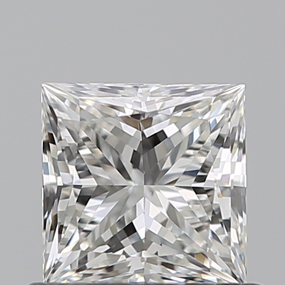 0.60 Carat Princess Loose Diamond, G, VS2, Ideal, GIA Certified