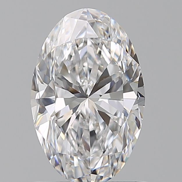 0.90 Carat Oval Loose Diamond, D, VVS2, Ideal, GIA Certified