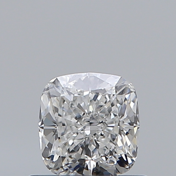0.59 Carat Cushion Loose Diamond, F, VS1, Ideal, GIA Certified