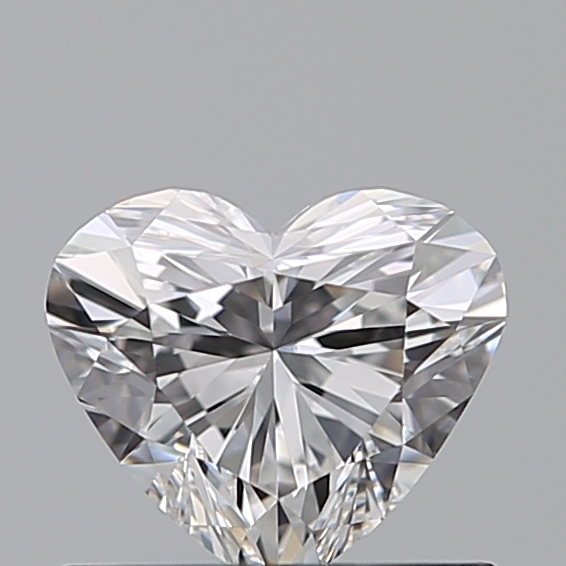 0.52 Carat Heart Loose Diamond, E, IF, Ideal, GIA Certified