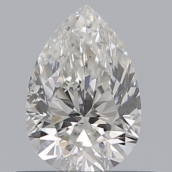 0.53 Carat Pear Loose Diamond, G, SI2, Ideal, GIA Certified