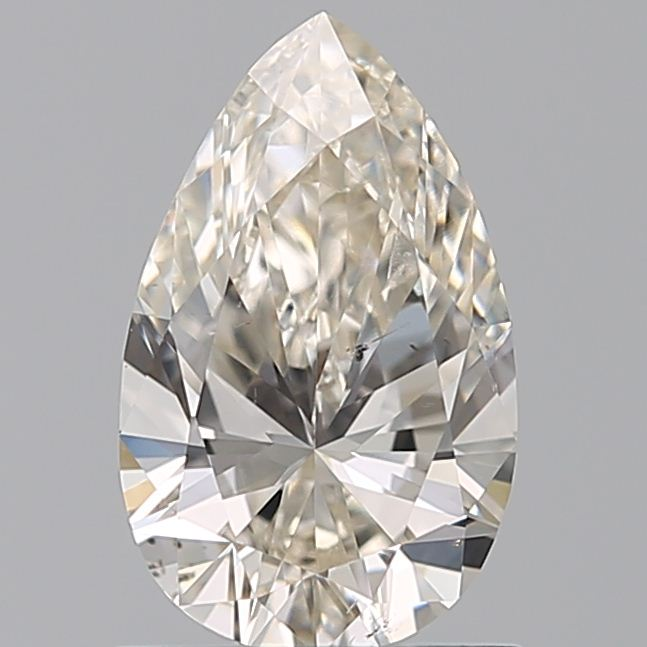0.84 Carat Pear Loose Diamond, K, SI2, Ideal, GIA Certified