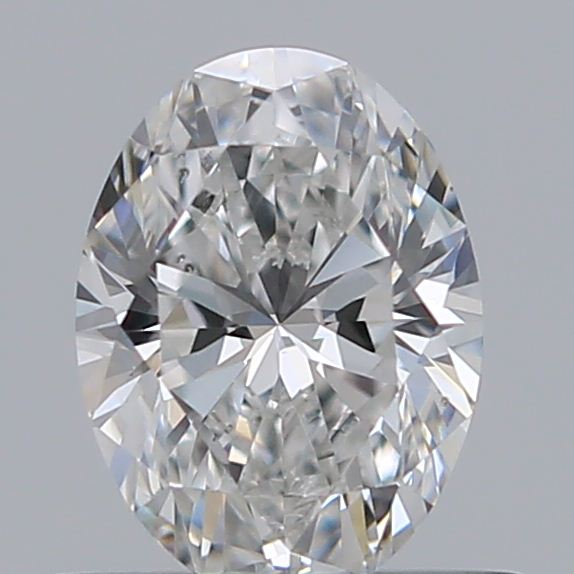 0.50 Carat Oval Loose Diamond, F, VS2, Super Ideal, GIA Certified