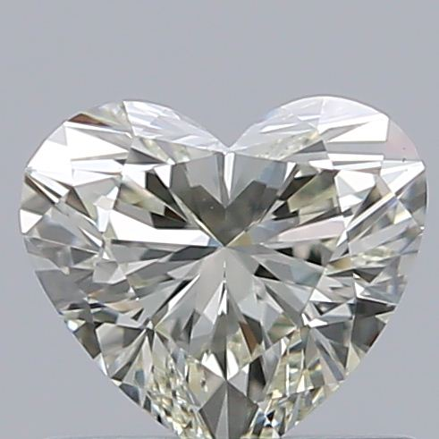 0.59 Carat Heart Loose Diamond, M, VS1, Super Ideal, GIA Certified | Thumbnail