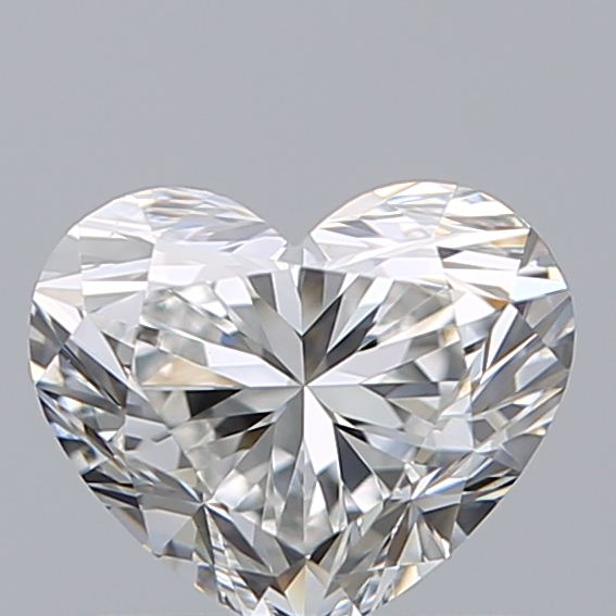 0.71 Carat Heart Loose Diamond, F, VS1, Ideal, GIA Certified