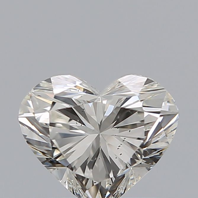 0.70 Carat Heart Loose Diamond, J, SI2, Super Ideal, GIA Certified