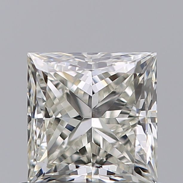 0.70 Carat Princess Loose Diamond, K, SI1, Excellent, GIA Certified