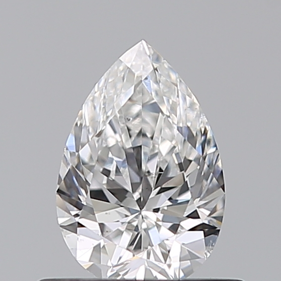 0.50 Carat Pear Loose Diamond, E, SI1, Ideal, GIA Certified