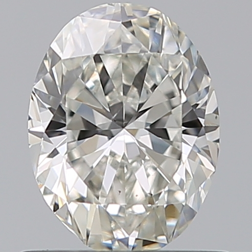 0.70 Carat Oval Loose Diamond, H, SI1, Ideal, GIA Certified