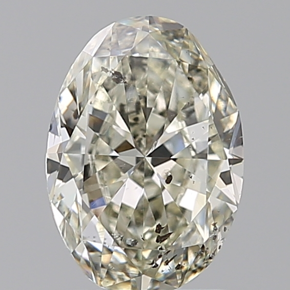 1.00 Carat Oval Loose Diamond, L, SI2, Excellent, GIA Certified