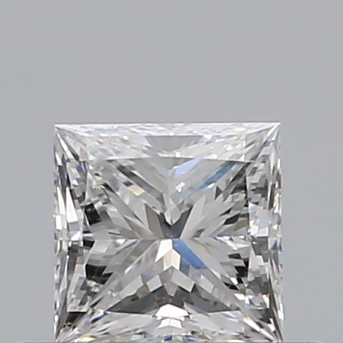 0.33 Carat Princess Loose Diamond, E, VS2, Ideal, GIA Certified