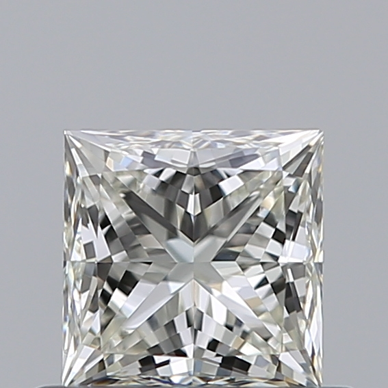 0.52 Carat Princess Loose Diamond, J, VS1, Super Ideal, GIA Certified
