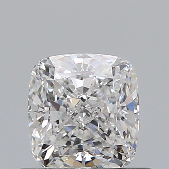 0.51 Carat Cushion Loose Diamond, E, VVS2, Ideal, GIA Certified