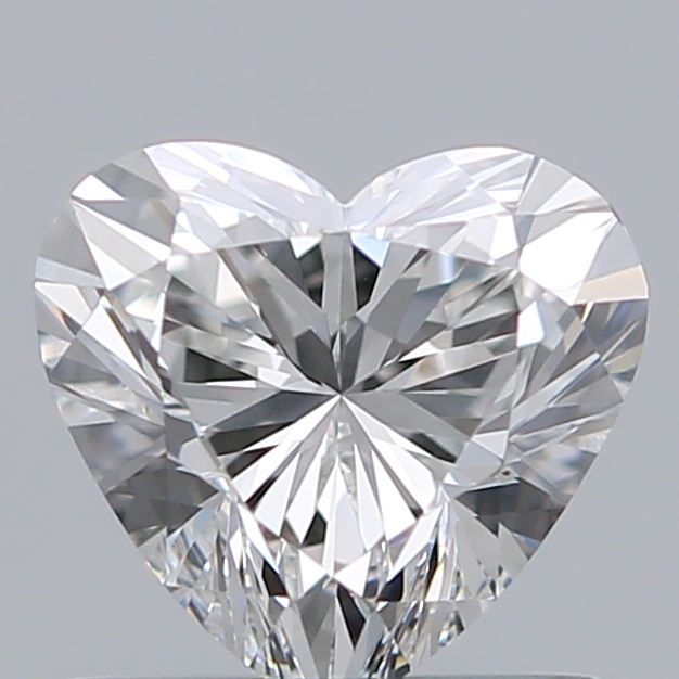 0.70 Carat Heart Loose Diamond, G, VVS2, Super Ideal, GIA Certified