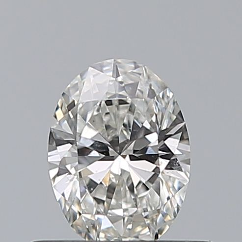 0.40 Carat Oval Loose Diamond, F, SI1, Ideal, GIA Certified | Thumbnail