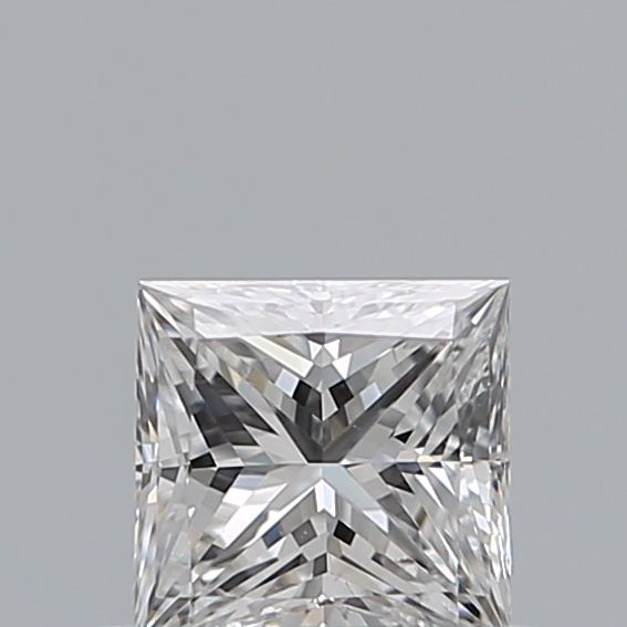 0.39 Carat Princess Loose Diamond, E, SI2, Super Ideal, GIA Certified
