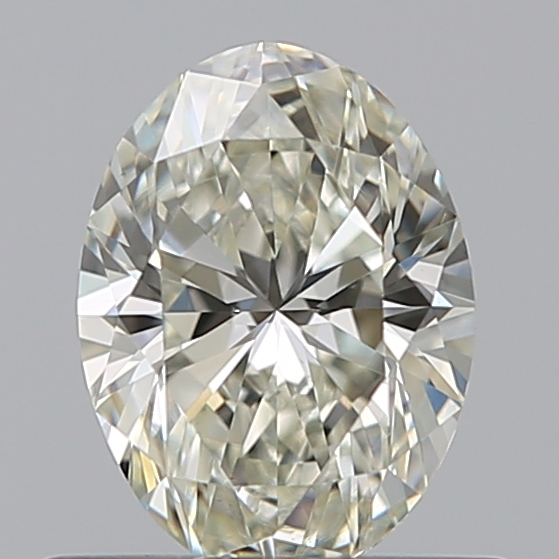 0.51 Carat Oval Loose Diamond, K, VS1, Ideal, GIA Certified | Thumbnail