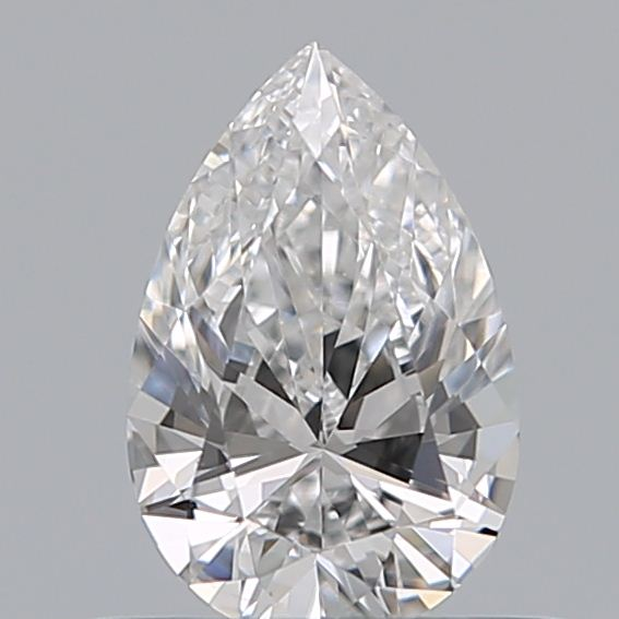 0.40 Carat Pear Loose Diamond, E, SI1, Ideal, GIA Certified