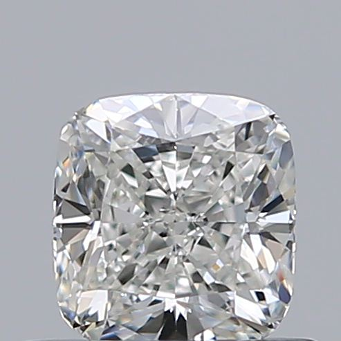 0.51 Carat Cushion Loose Diamond, H, VS1, Ideal, GIA Certified