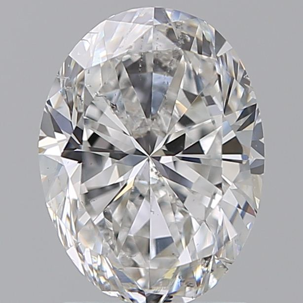1.70 Carat Oval Loose Diamond, F, SI2, Ideal, GIA Certified