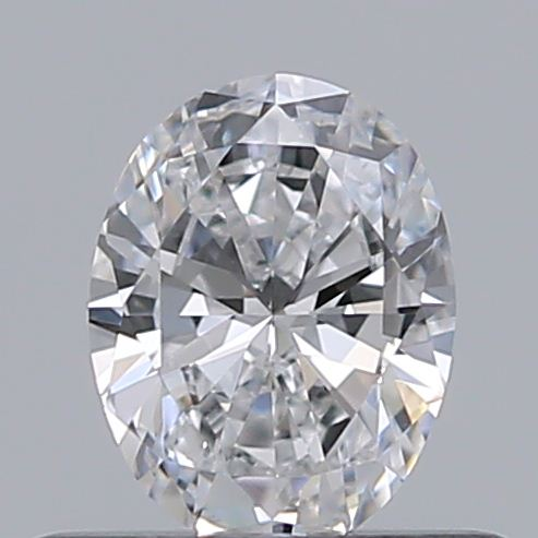 0.38 Carat Oval Loose Diamond, D, VS2, Excellent, GIA Certified