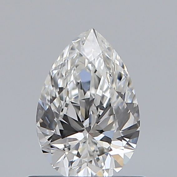 0.59 Carat Pear Loose Diamond, F, VS1, Super Ideal, GIA Certified
