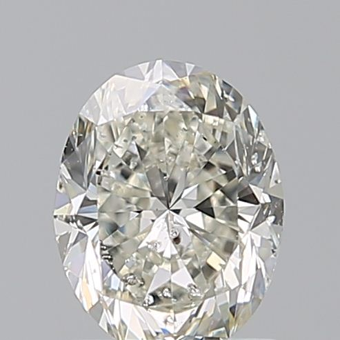 1.00 Carat Oval Loose Diamond, G, I1, Very Good, GIA Certified | Thumbnail