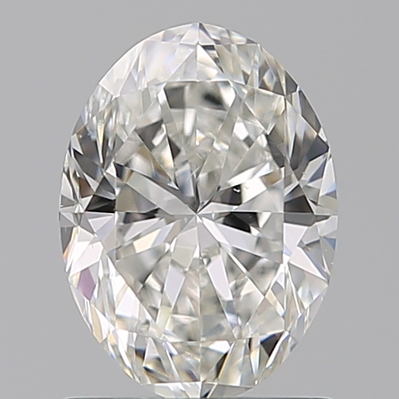 1.00 Carat Oval Loose Diamond, G, VS2, Ideal, GIA Certified