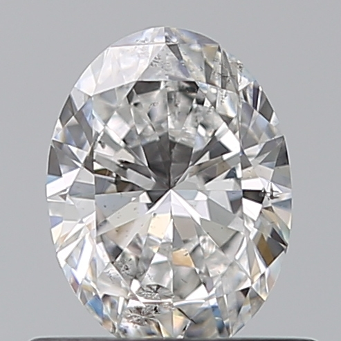 0.54 Carat Oval Loose Diamond, D, SI2, Super Ideal, GIA Certified | Thumbnail
