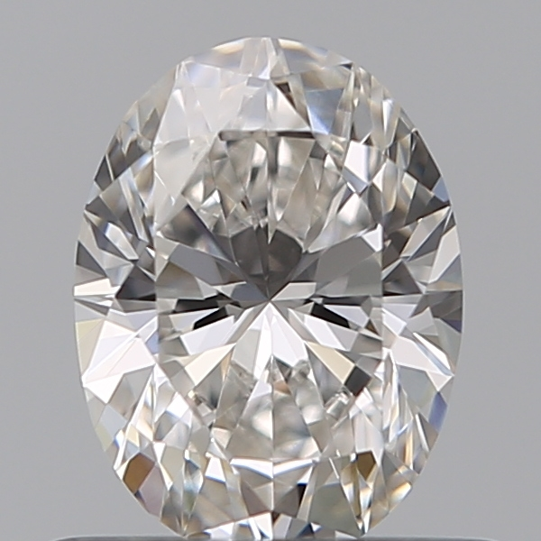 0.50 Carat Oval Loose Diamond, G, VS2, Ideal, GIA Certified
