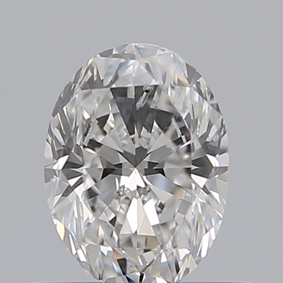 0.53 Carat Oval Loose Diamond, E, SI2, Excellent, GIA Certified