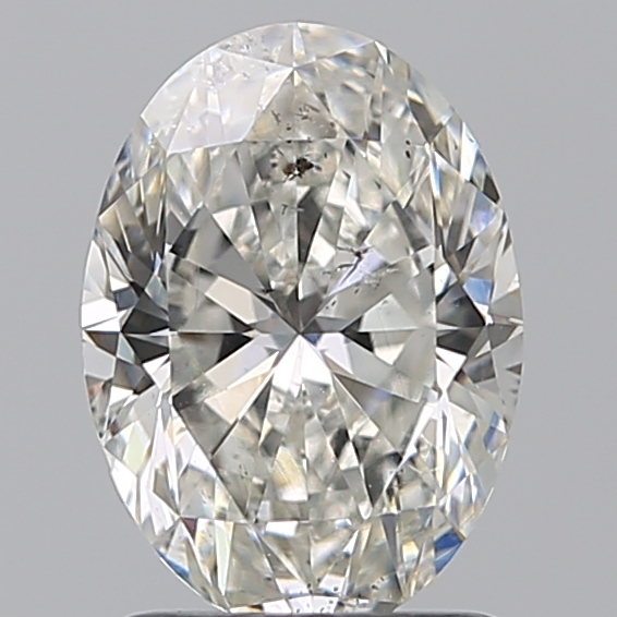 1.60 Carat Oval Loose Diamond, G, SI2, Ideal, GIA Certified