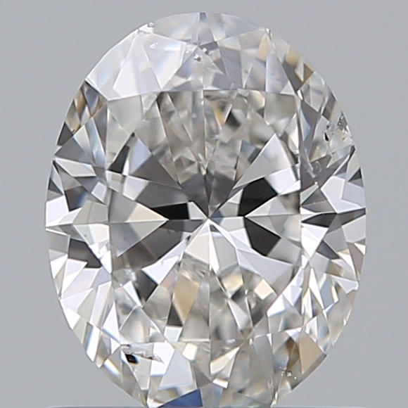 0.70 Carat Oval Loose Diamond, G, SI1, Ideal, GIA Certified