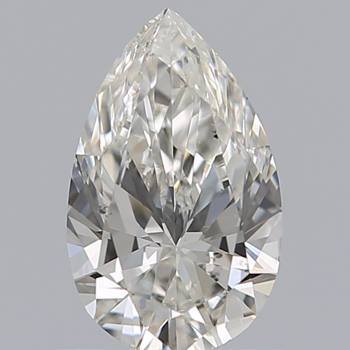 0.70 Carat Pear Loose Diamond, H, SI1, Ideal, GIA Certified
